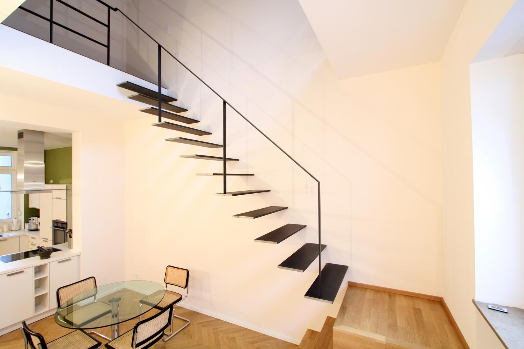 pr sentiert design treppen. Black Bedroom Furniture Sets. Home Design Ideas